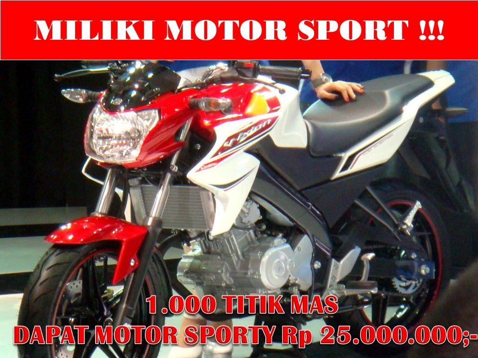 MILIKI MOTOR SPORT !!!