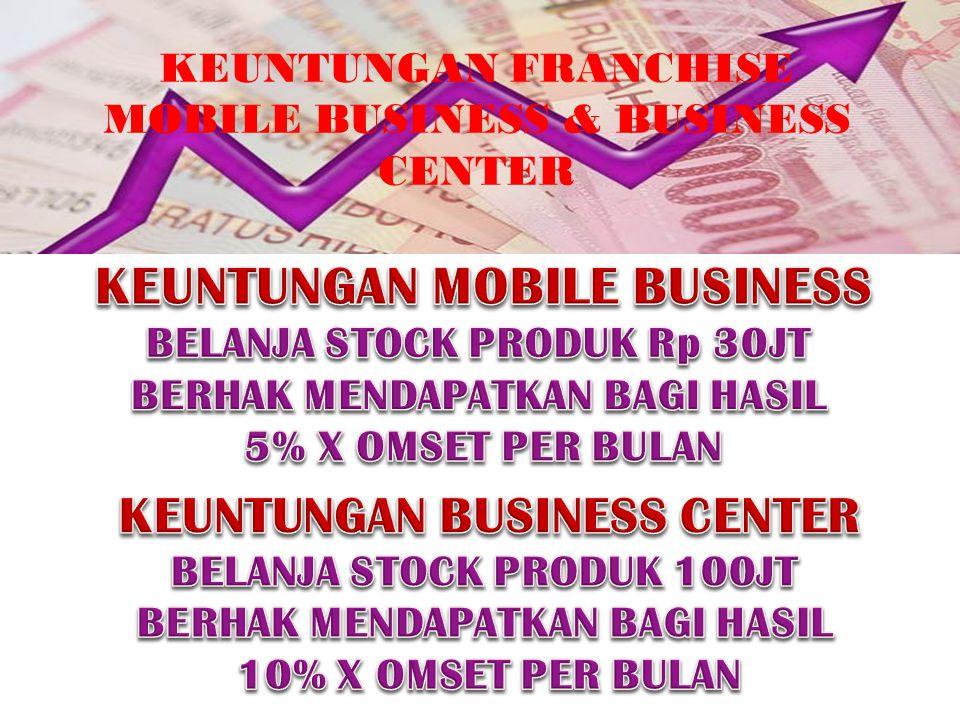 KEUNTUNGAN FRANCHISE MOBILE BUSINESS & BUSINESS CENTER