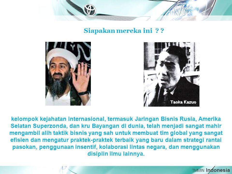 TMMIN Indonesia Siapakan mereka ini .