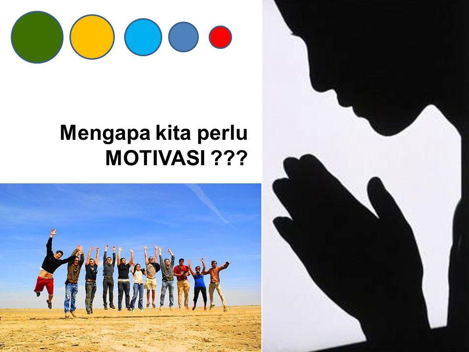TUJUAN Komponen ketiga dari motivasi adalah TUJUAN.