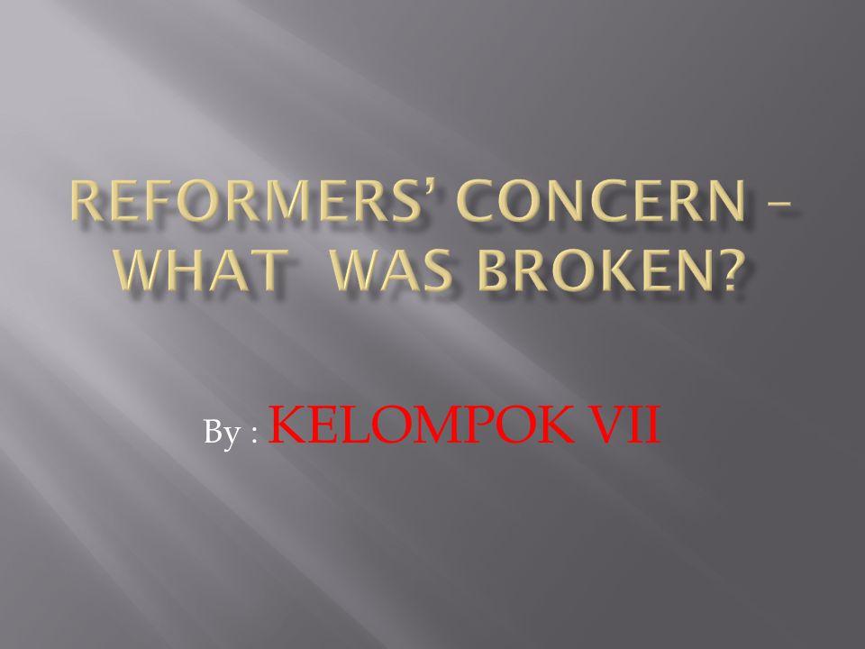 By : KELOMPOK VII