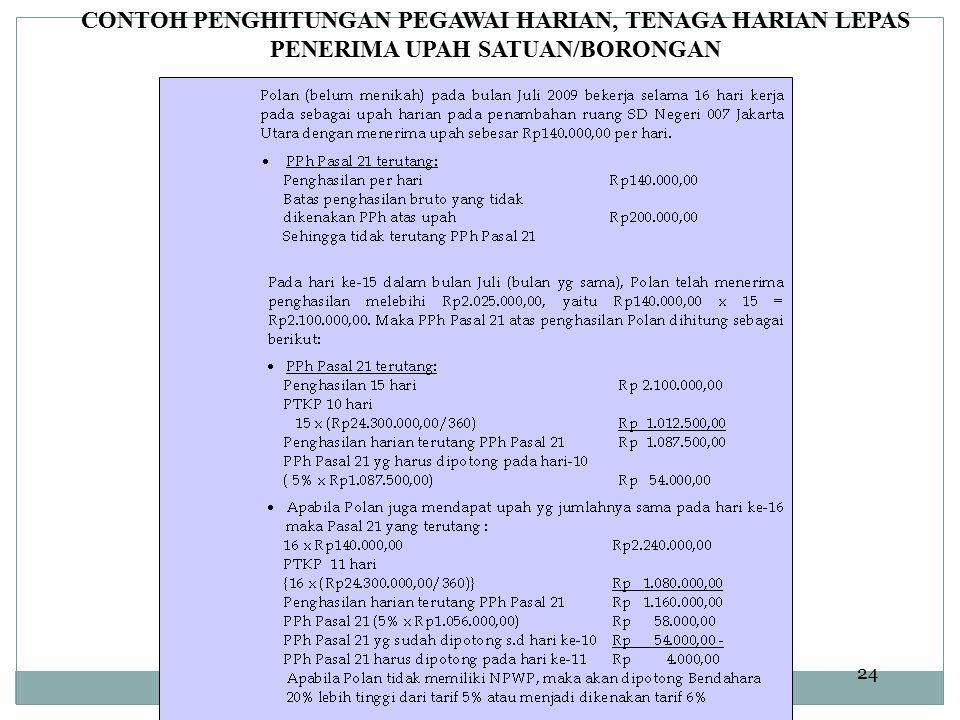 Dit.P2Humas24 CONTOH PENGHITUNGAN PEGAWAI HARIAN, TENAGA HARIAN LEPAS PENERIMA UPAH SATUAN/BORONGAN