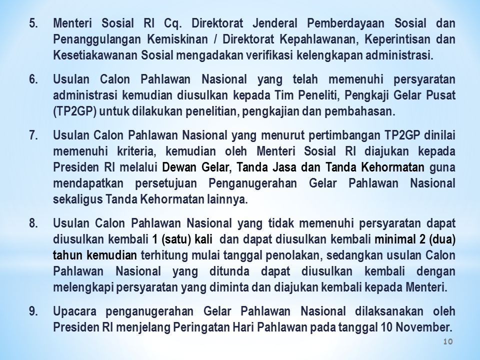 10 5.Menteri Sosial RI Cq.