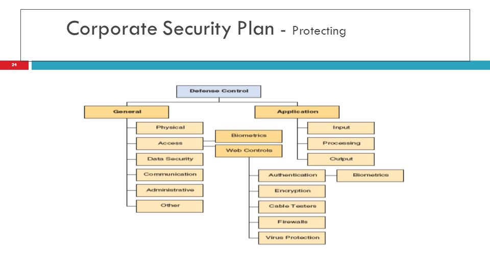 Corporate Security Plan - Protecting 24
