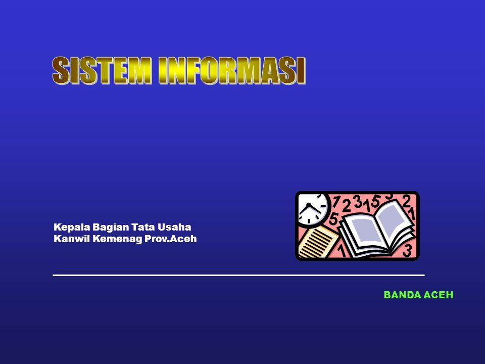 BANDA ACEH Kepala Bagian Tata Usaha Kanwil Kemenag Prov.Aceh