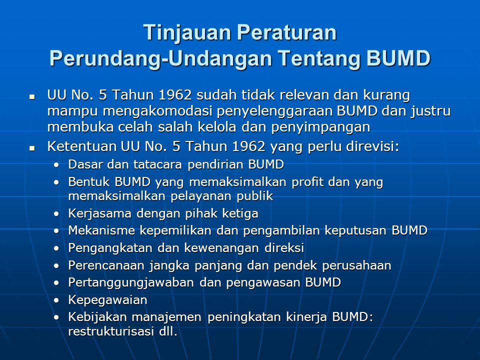 Kesimpulan Analisis Profil BUMD di Indonesia