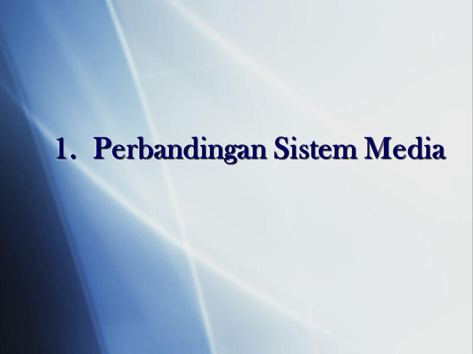 1. Perbandingan Sistem Media