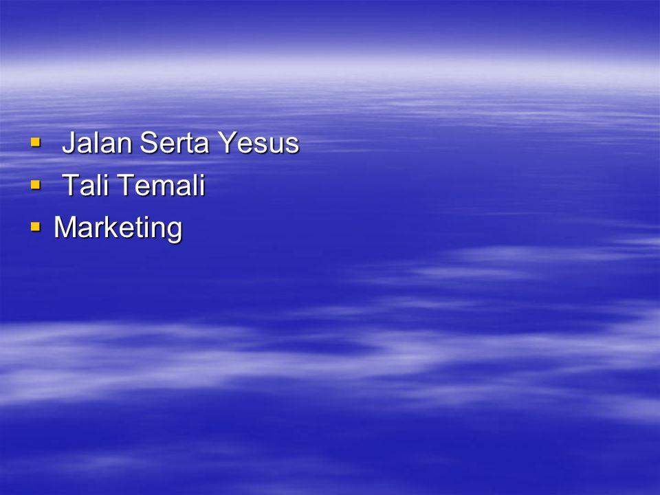  Jalan Serta Yesus  Tali Temali  Marketing
