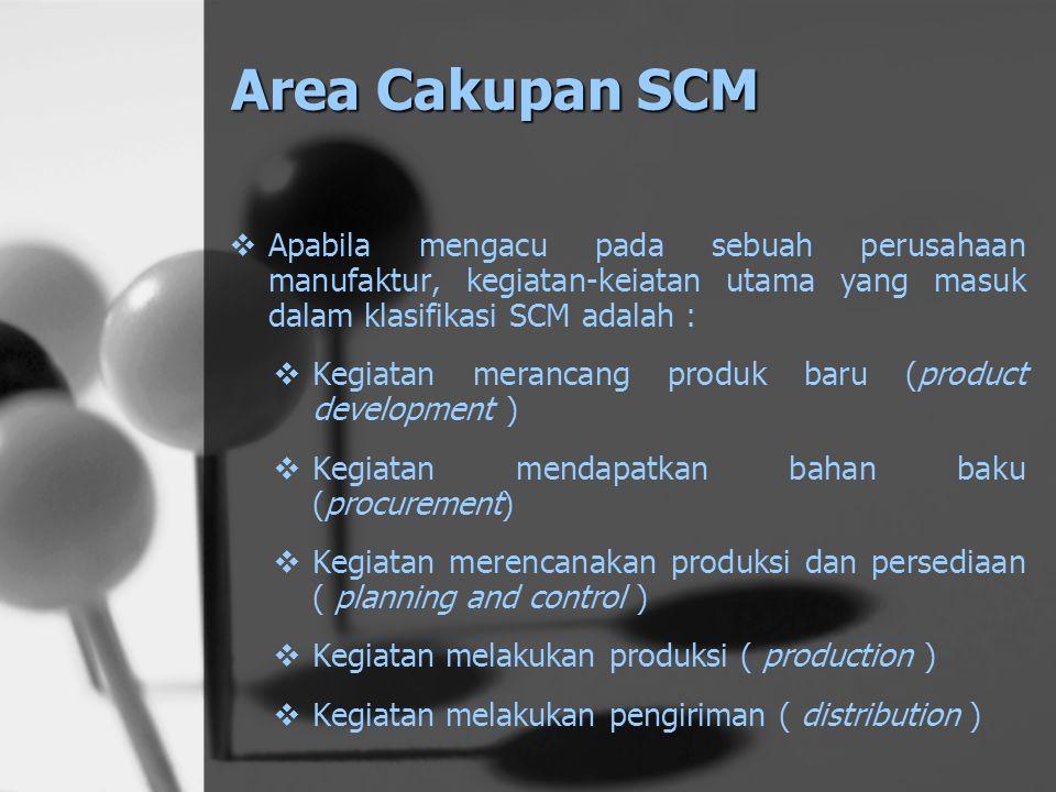Supply Chain dan SCM Jawabannya adalah pada hakekatnya mereka semua memiliki metode atau pendekatan dalam mengelola supply chain mereka, namun tidak s