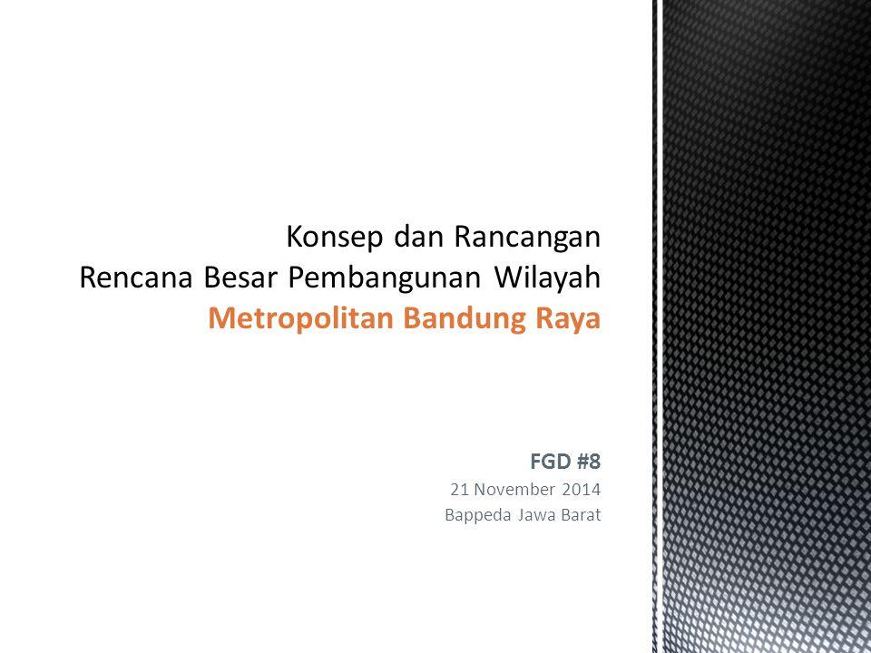 Maksud Pengelolaan pembangunan dan pengembangan Metropolitan dan Pusat Pertumbuhan di Daerah  untuk mencapai pembangunan yang terintegrasi, efektif, efisien, dan berkesinambungan dalam konteks pembangunan berkelanjutan untuk seluruh masyarakat Jawa Barat.