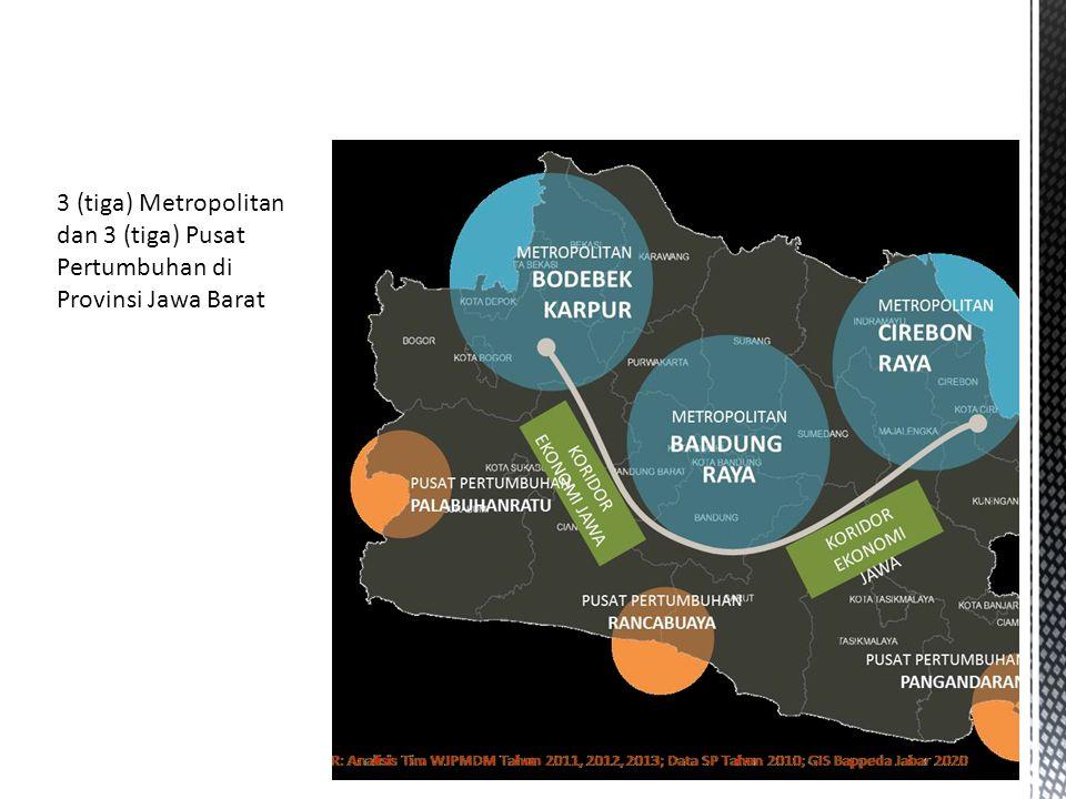 a.Concern, Isu dan Masalah Metropolitan Bandung Raya b.Keunggulan Wilayah Metropolitan Bandung Raya c.Rumusan Tujuan/Visi Pembangunan Metropolitan Bandung Raya 1.