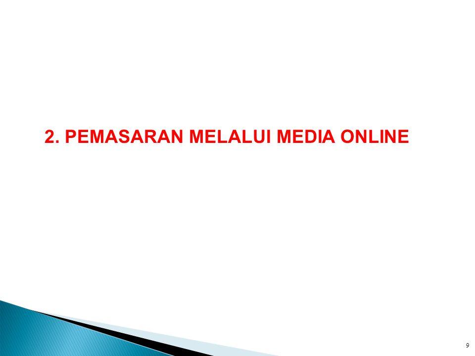 2. PEMASARAN MELALUI MEDIA ONLINE 9