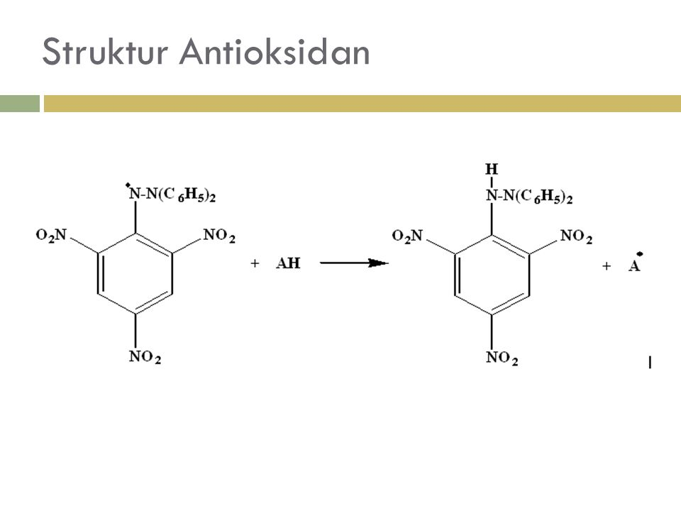 Struktur Antioksidan