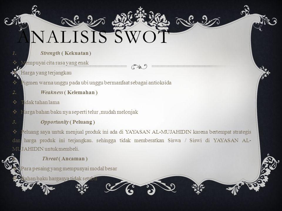 ANALISIS SWOT 1.