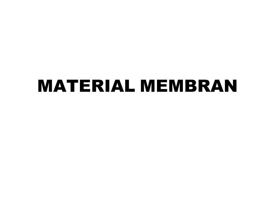 Secara umum membran dibagi 2, yaitu: 1.membran biologis 2.