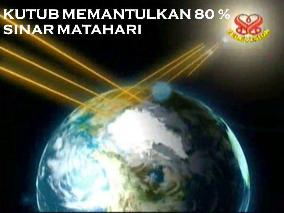 ES KUTUB UTARA YANG MENCAIR (AKIBAT PEMANASAN GLOBAL) TH 2007 (NASA) 