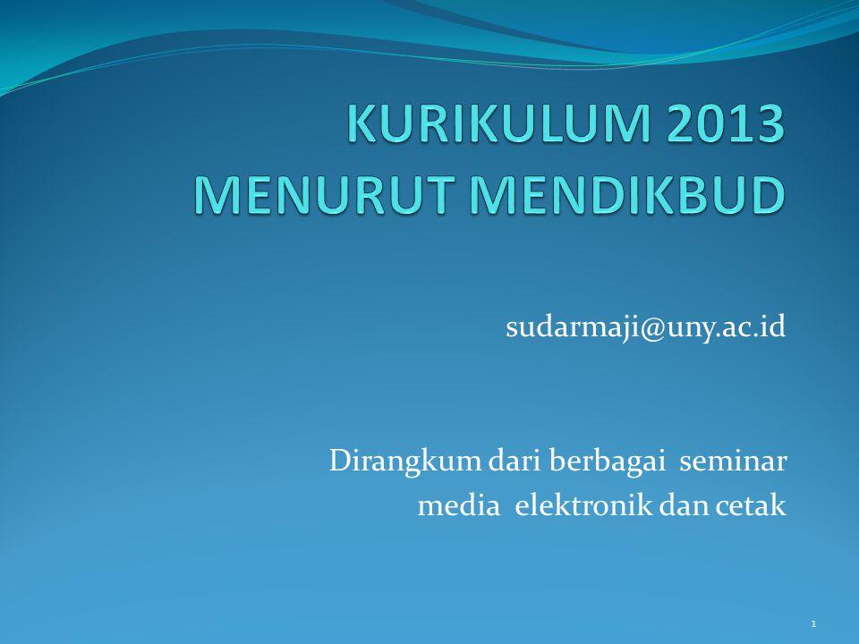 sudarmaji@uny.ac.id Dirangkum dari berbagai seminar media elektronik dan cetak 1