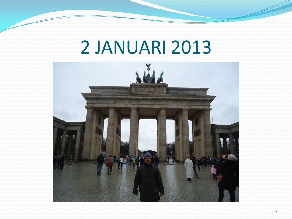 2 JANUARI 2013 2