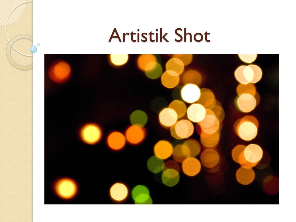 Artistik Shot