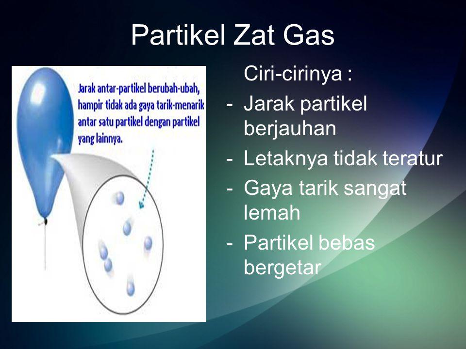 Gaya Antar Partikel Zat Dua macam gaya tarik-menarik antarpartikel Yaitu : -Kohesi adalah Gaya tarik-menarik antarpartikel sejenis Contoh :