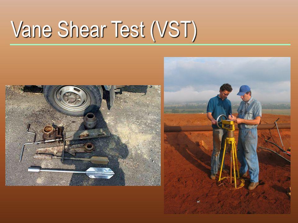 Vane Shear Test (VST)