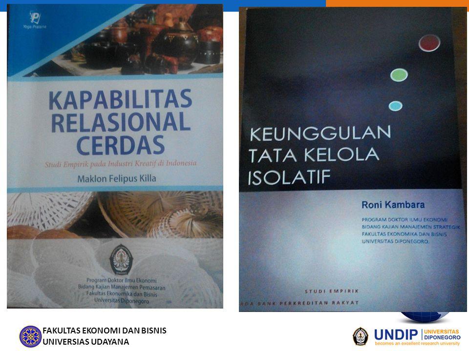 FAKULTAS EKONOMI DAN BISNIS UNIVERSIAS UDAYANA Skenario Kelp 3.