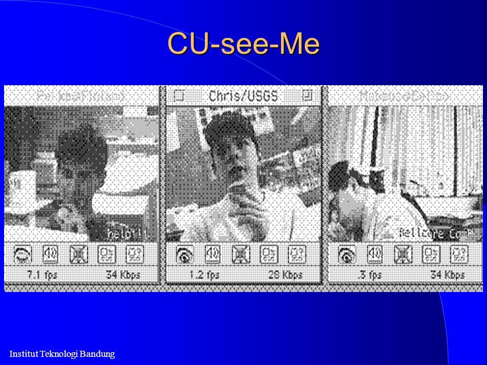 Institut Teknologi Bandung CU-see-Me