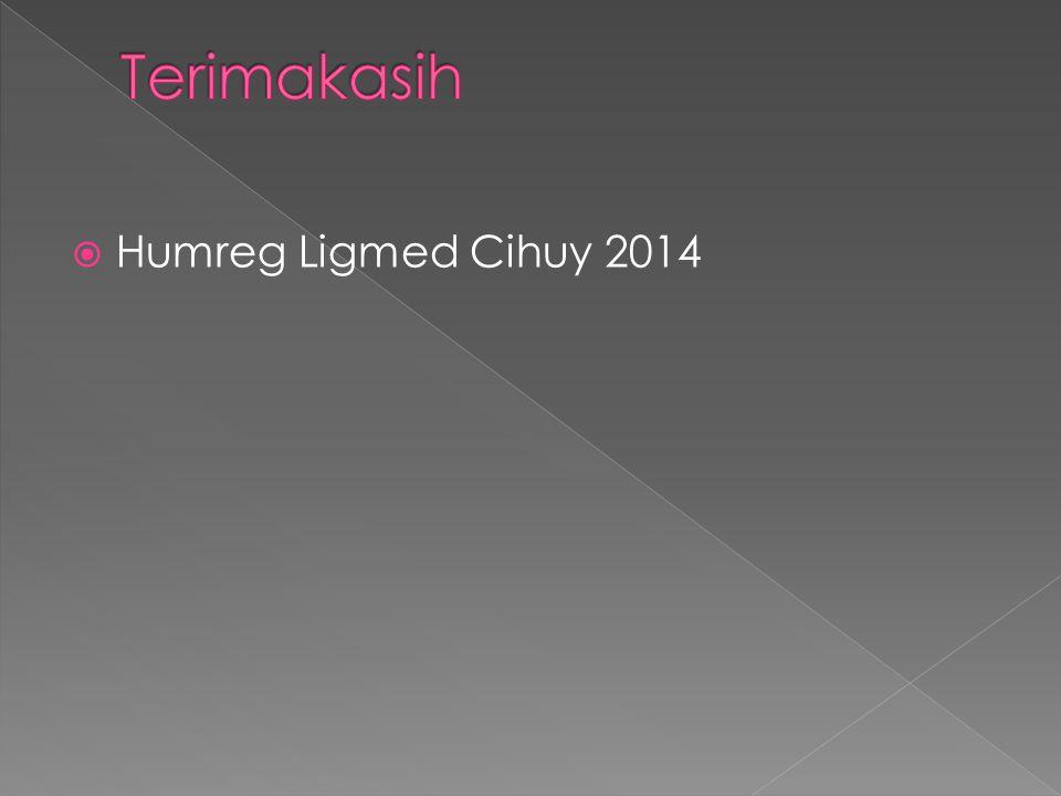  Humreg Ligmed Cihuy 2014