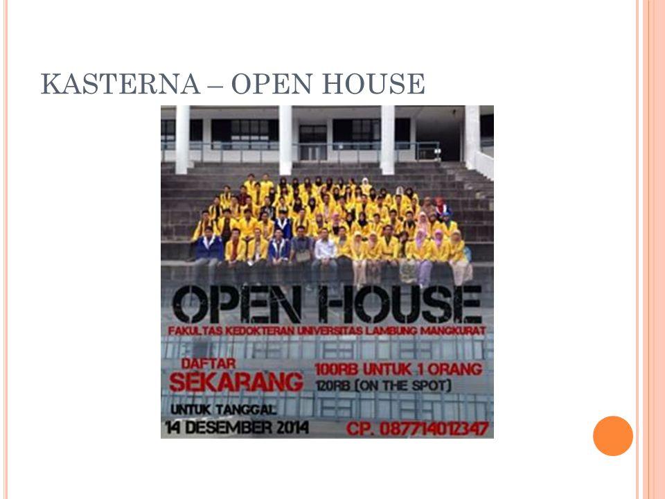 KASTERNA – OPEN HOUSE