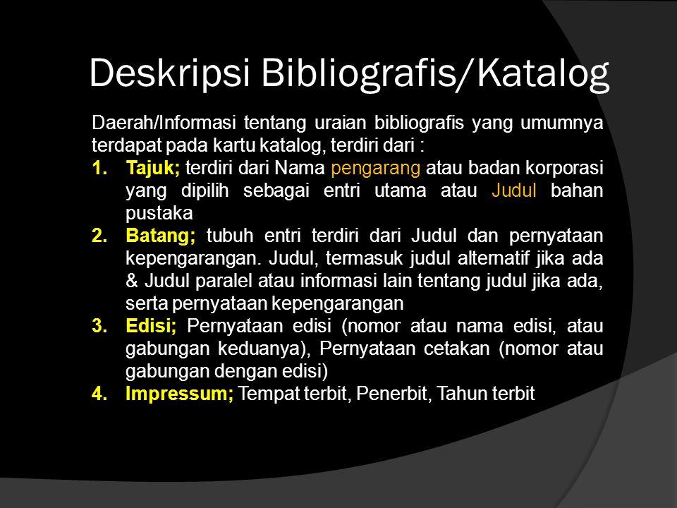 5.Kolasi; Keterangan kuantitas (misalnya jumlah halaman, jilid bila ada dan sebagainya).