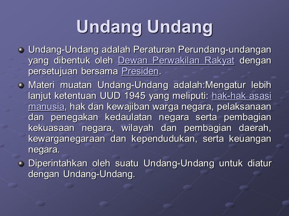 Undang Undang Dasar 1945 UUD 1945 merupakan hukum dasar dalam Peraturan Perundang- undangan.