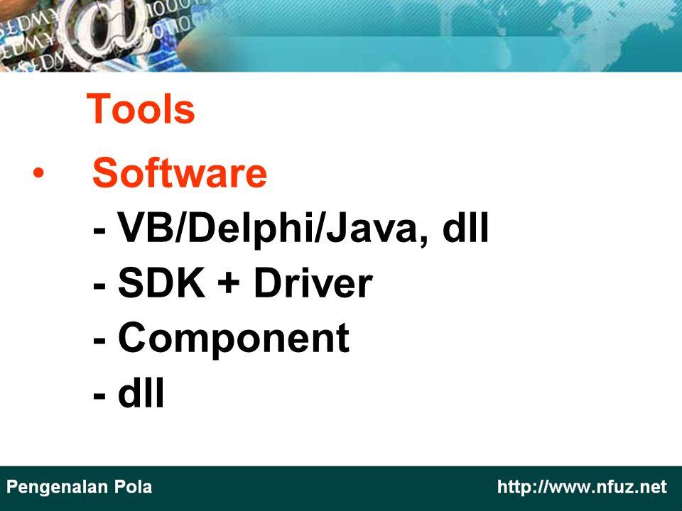 Software - VB/Delphi/Java, dll - SDK + Driver - Component - dll Tools