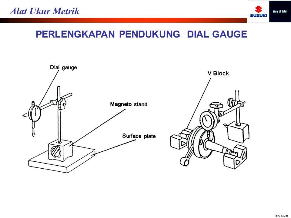 PERLENGKAPAN PENDUKUNG DIAL GAUGE V Block DIAL GAUGE Alat Ukur Metrik