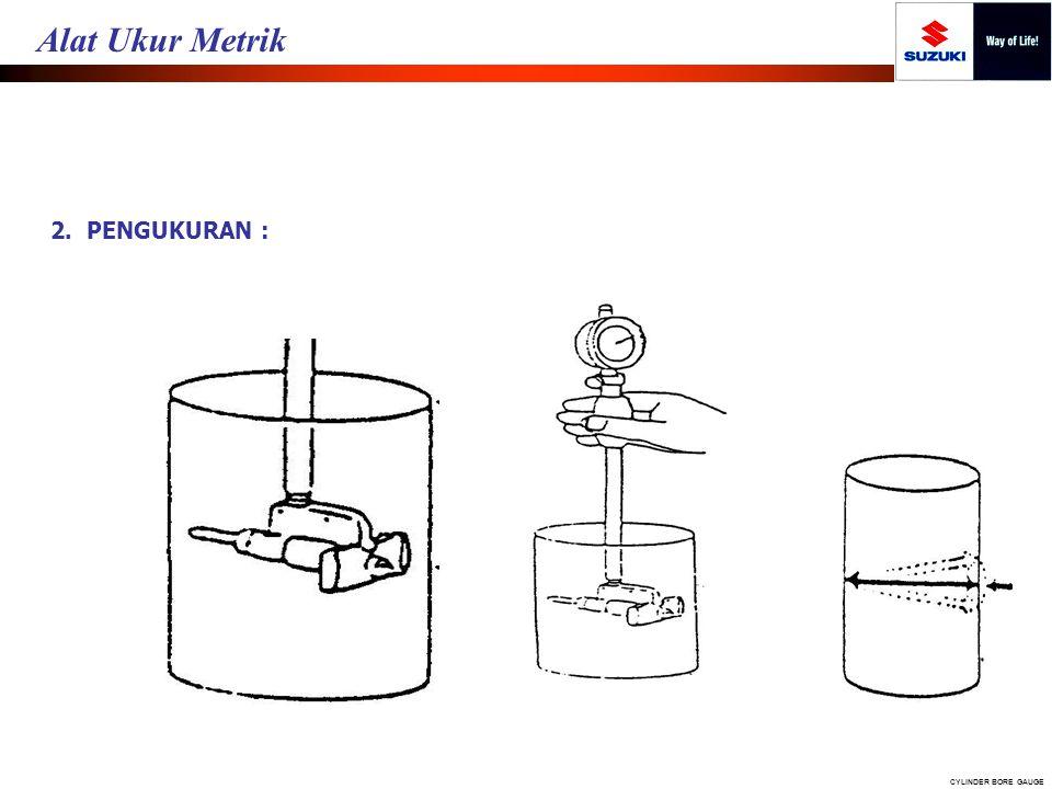 2. PENGUKURAN : CYLINDER BORE GAUGE Alat Ukur Metrik