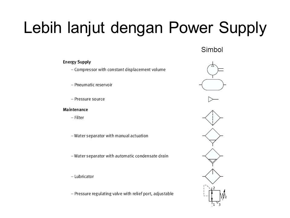 Lebih lanjut dengan Power Supply Simbol