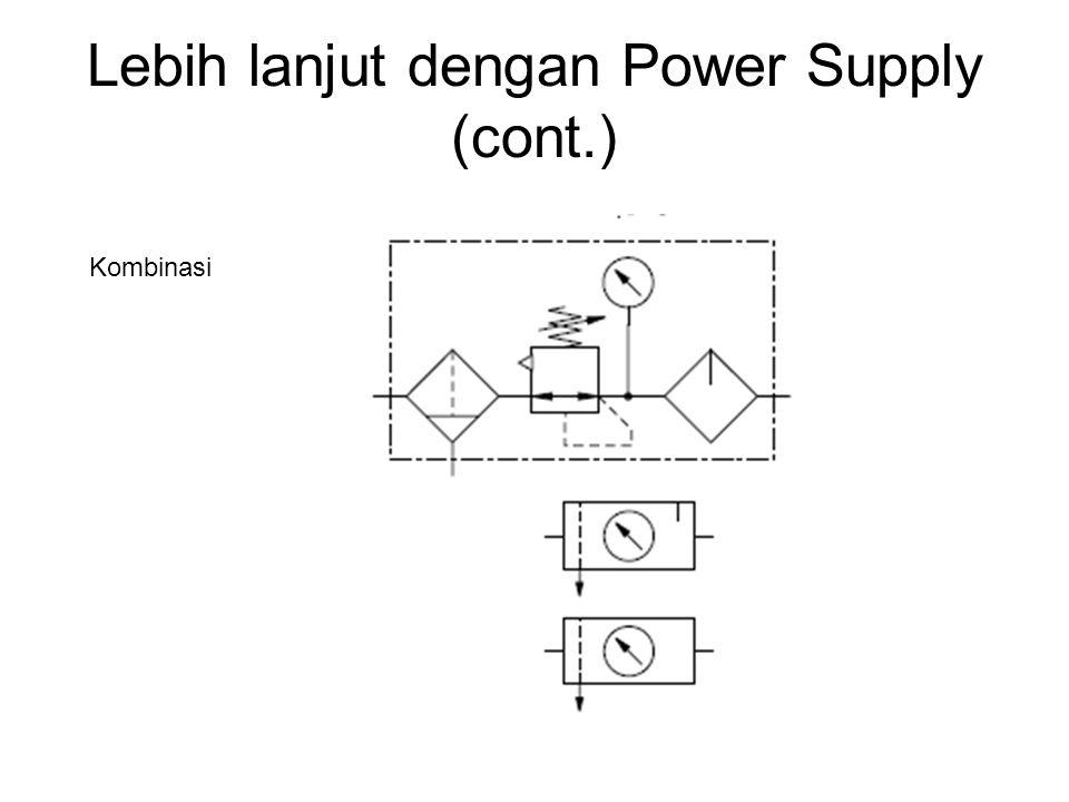 Lebih lanjut dengan Power Supply (cont.) Kombinasi