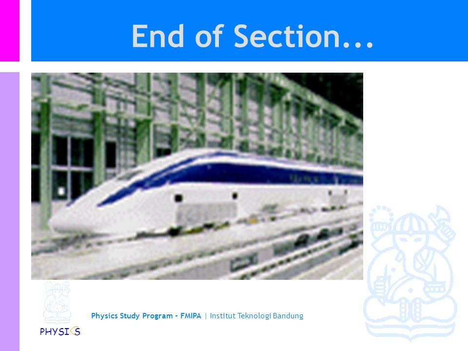 Physics Study Program - FMIPA | Institut Teknologi Bandung PHYSI S Konduktor …