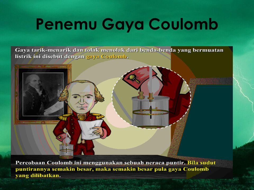 Penemu Gaya Coulomb