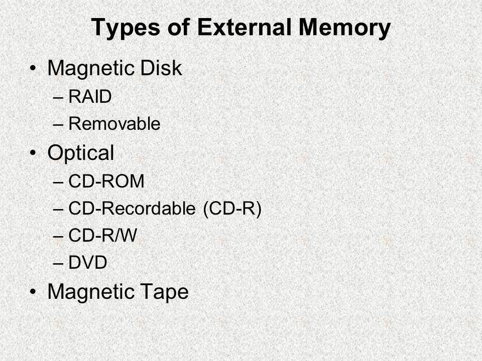 Magnetic Disk Disk adalah suatu piringan berbentuk lingkaran yg dibuat dari material nonmagnetik, disebut dgn substrate, dilapisi dgn material yg dpt dimagnet.