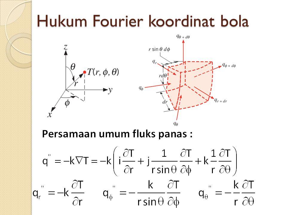 Hukum Fourier koordinat bola