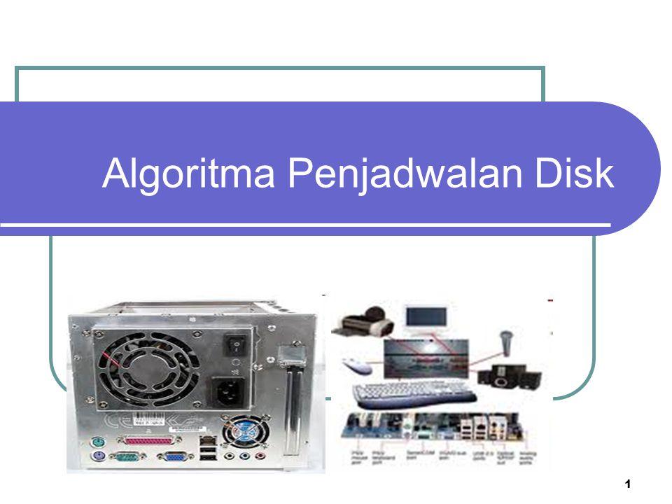 1 Algoritma Penjadwalan Disk