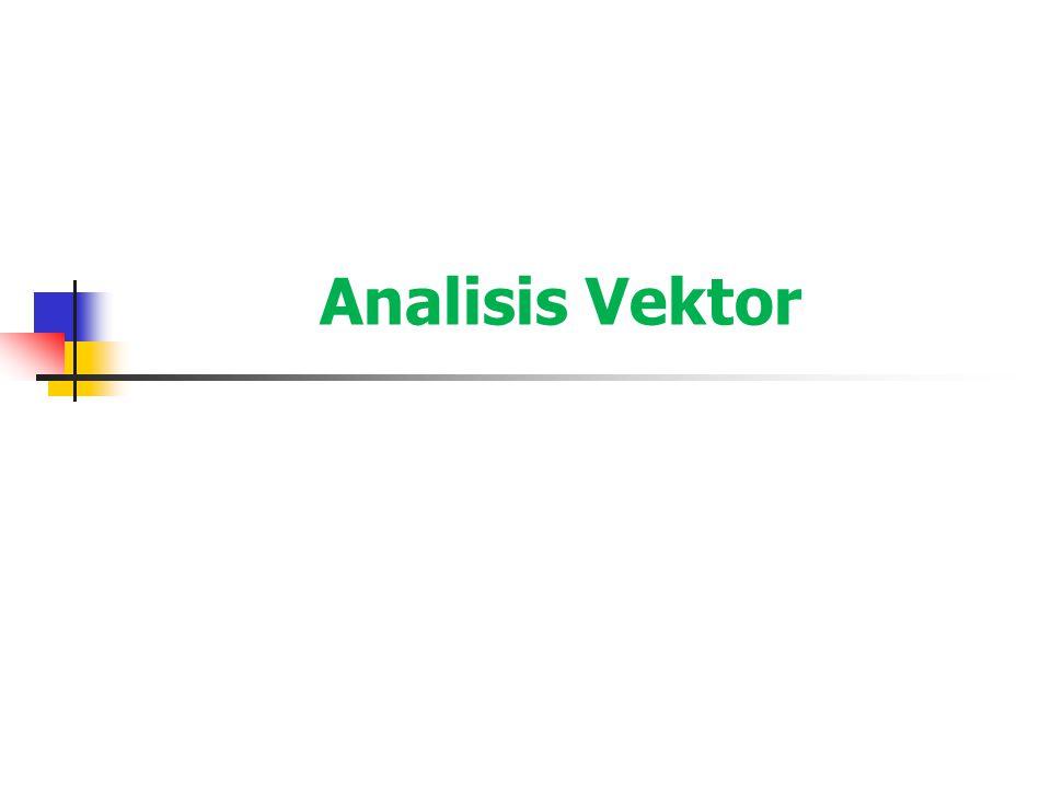 Lingkup Bahasan Skalar dan Vektor Aljabar Vektor Sistem Koordinat Persegi Komponen-komponen Vektor dan Vektor Satuan Medan Vektor Hasil Kali Titik/Dot Product Hasil Kali Silang/Cross Product Sistem Koordinat Silinder Sistem Koordinat Bola