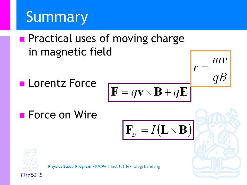 Physics Study Program - FMIPA | Institut Teknologi Bandung PHYSI S Contoh soal: Kontrol satelit Banyak satelit menggunakan kumparan yang disebut torqu