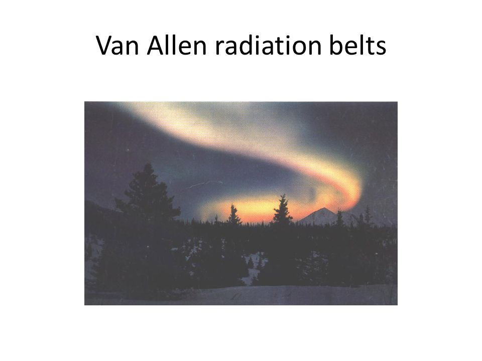 Van Allen radiation belts