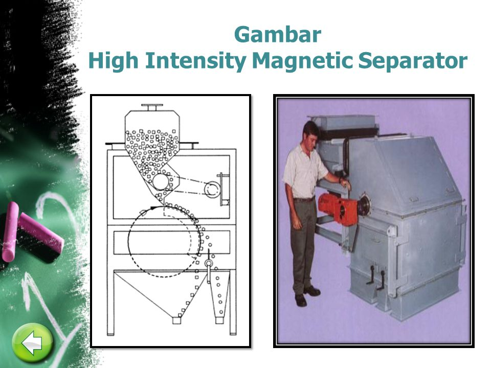 Gambar High Intensity Magnetic Separator