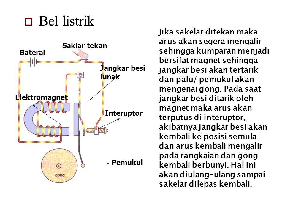 Penggunaan Elektromagnetik  Untuk mengangkat benda-benda dari besi