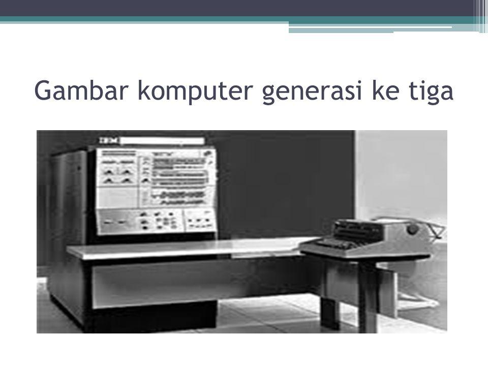 Gambar komputer generasi ke tiga