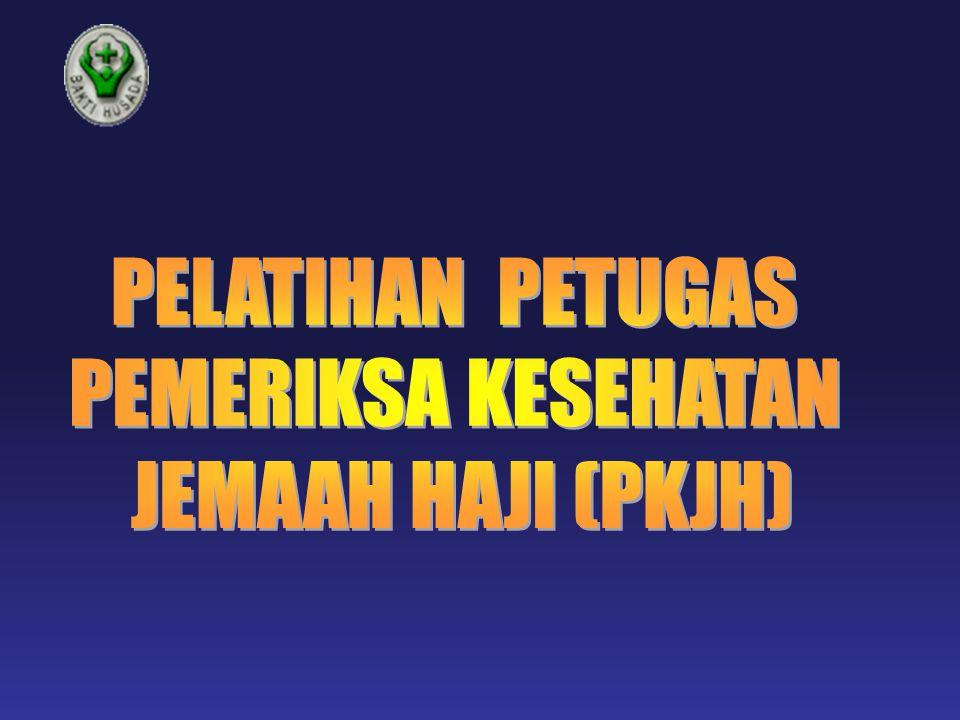 Kriteria Peserta Lulus Seleksi rekruitmen sebagai calon peserta diklat TKHI SK Menkes Profesi: Dokter Umum Perawat 19