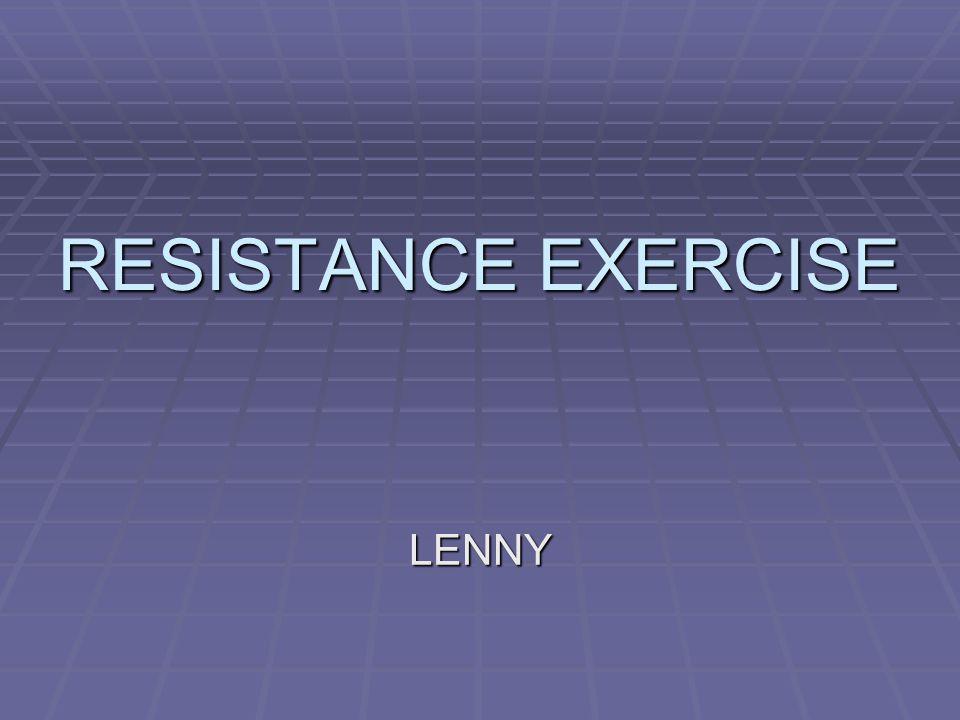 Pendahuluan  Aplikasi resisten pd otot yg berkontraksi  otot lebih kuat dlm beberapa waktu.
