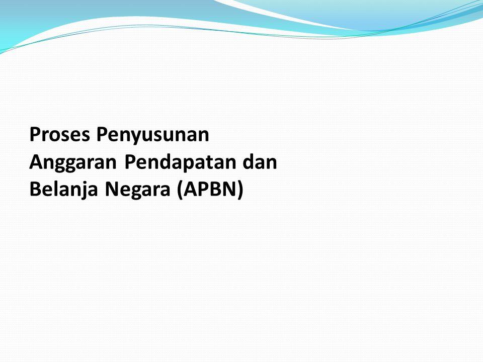 Proses Penyusunan Anggaran Pendapatan dan Belanja Negara (APBN)